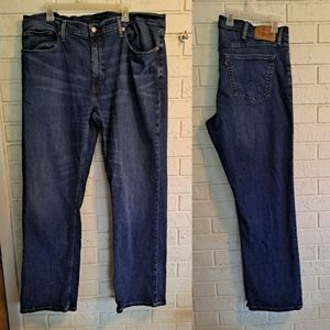 Levi's 559 relaxed fit blue jeans, 40
